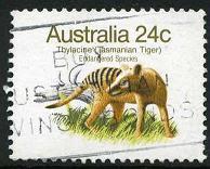 100 Tasmanian tiger
