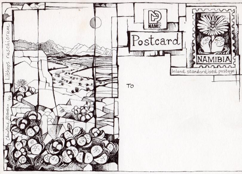 Namibia1996postcards